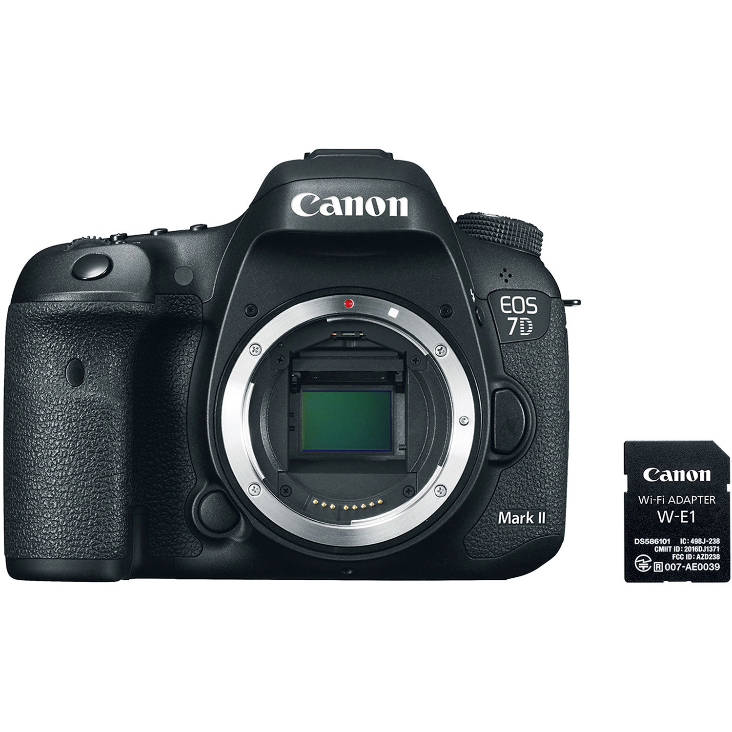 Canon EOS 7D Mark II DSLR Camera Body With W E1 Wi Fi 9128B126