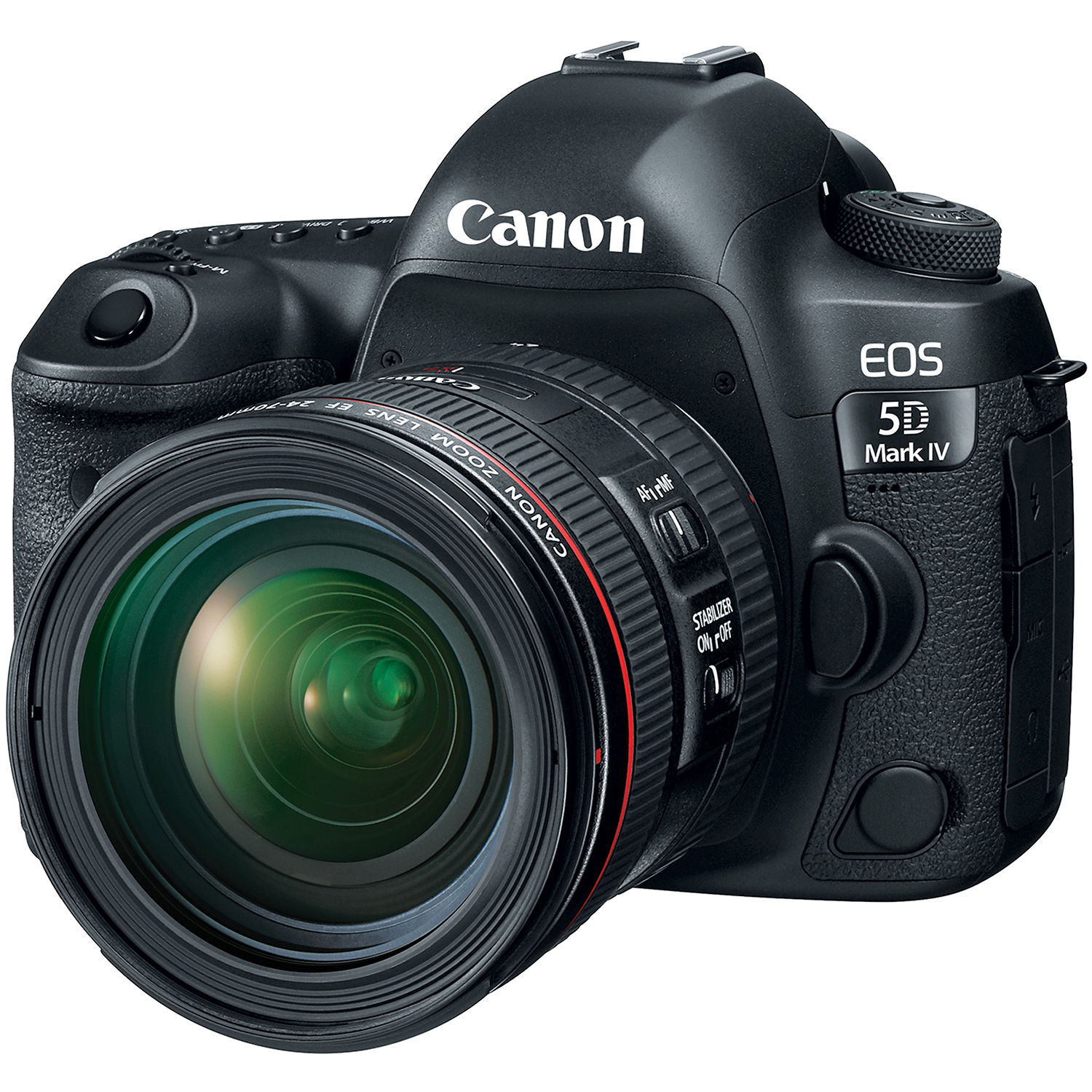 canon eos 5d mark iv dslr camera with 24 70mm f 4l lens