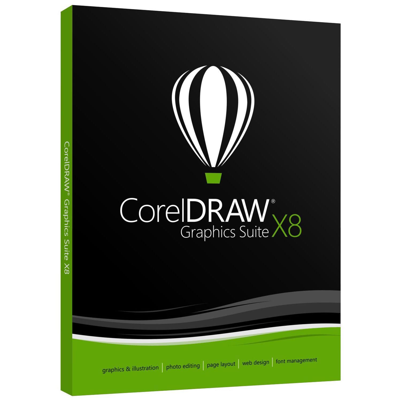 Corel CorelDRAW Graphics Suite X8 (Boxed) CDGSX8EFDP B&H Photo