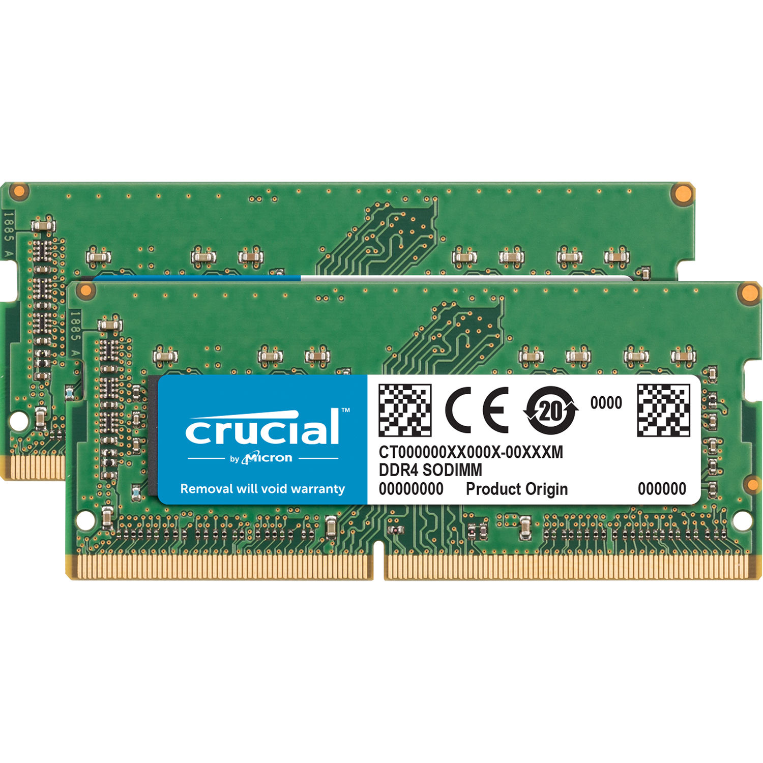 Crucial 16gb Ddr4 2400 Mhz So Dimm Memory Module Ct2k8g4s24am