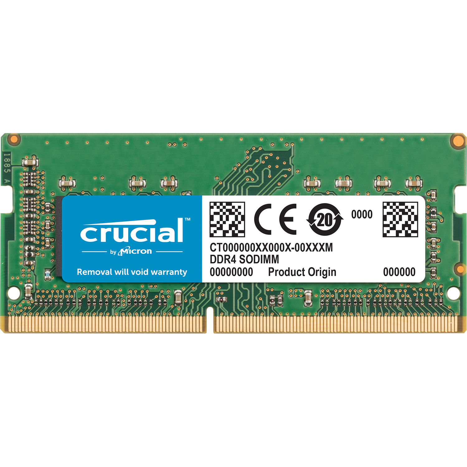 Crucial 8gb Ddr4 2400 Mhz So Dimm Memory Module Ct8g4s24am B H