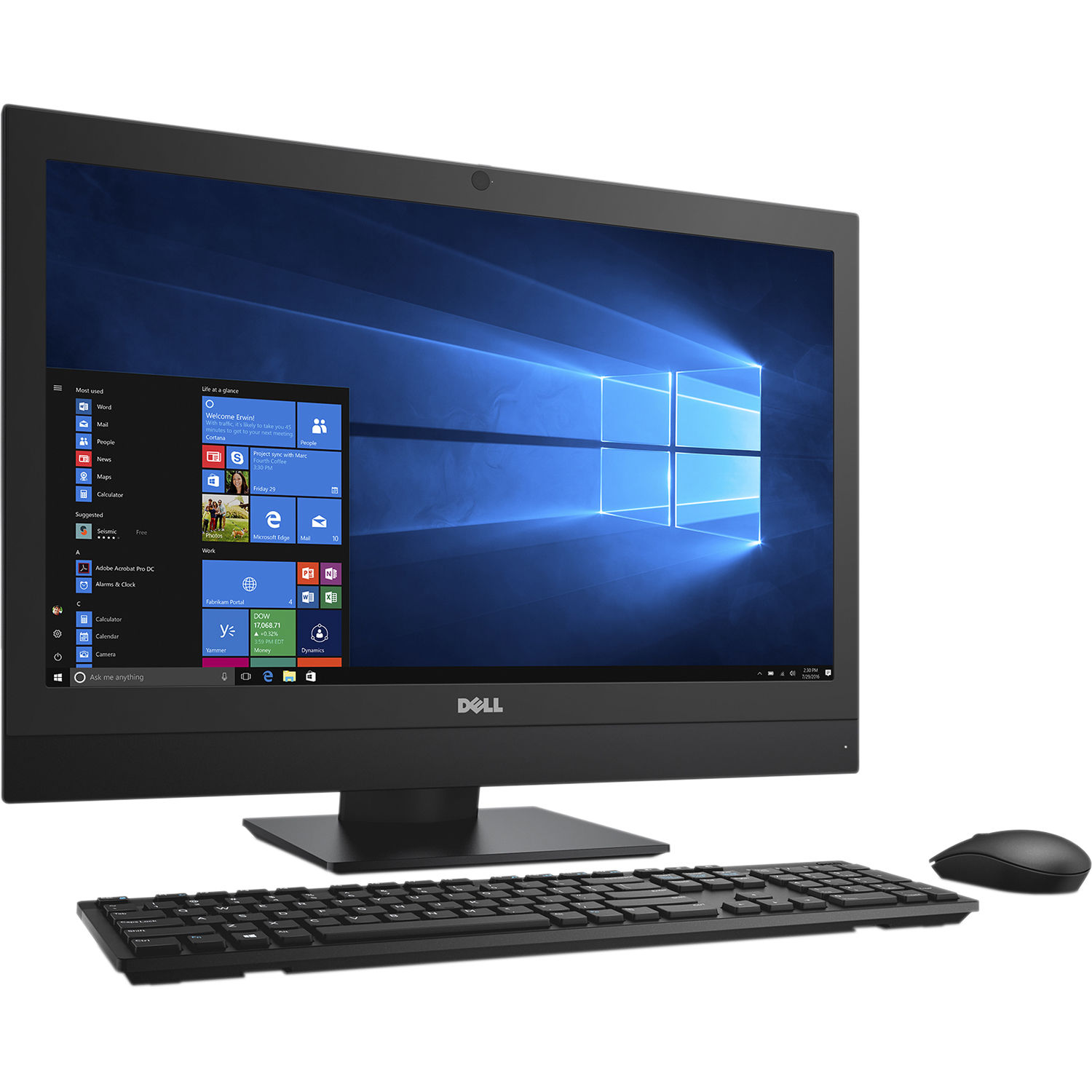 dell 23 8 optiplex 7450 all in one desktop computer 040p6. Black Bedroom Furniture Sets. Home Design Ideas