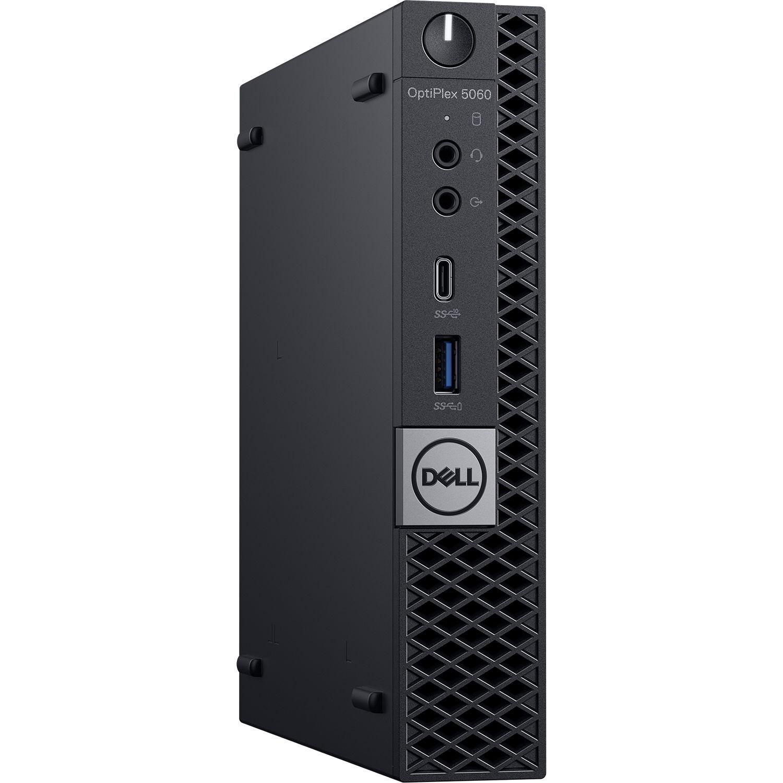 Dell Optiplex 5060 Micro Tower Desktop Computer D0nwv B Amp H