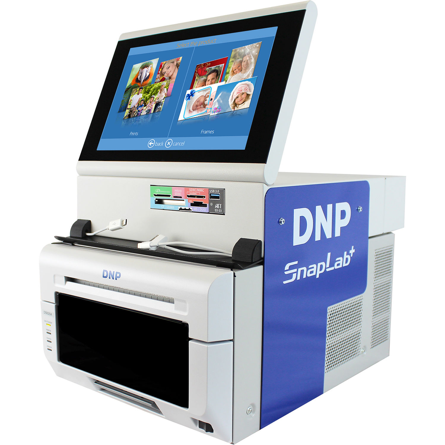 Dnp Snaplab Sl620a All In One Photo Kiosk System Sl620a Set Bh