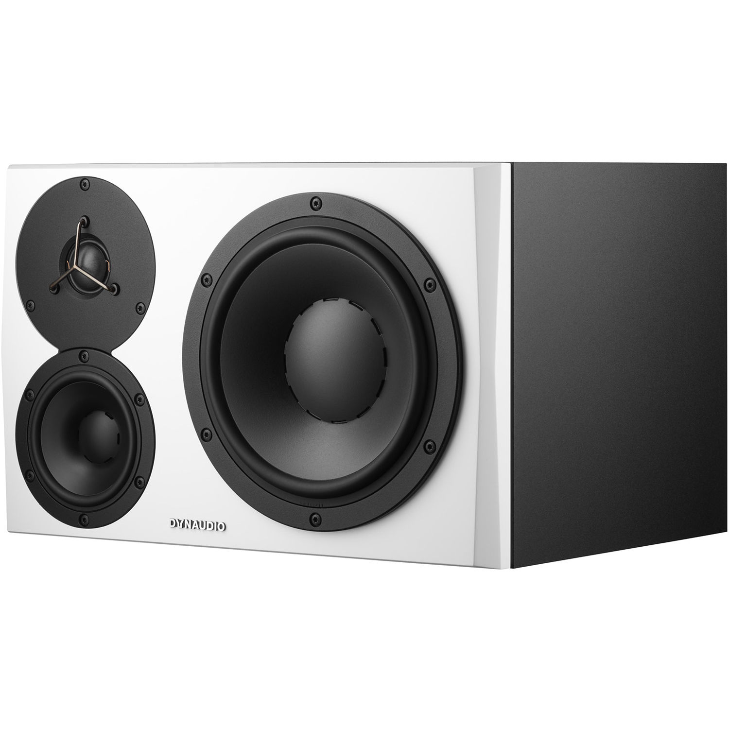 Dynaudio Acoustics Bh Photo Video 3 Way Speaker Switch Lyd 48 Nearfield Monitor Left White