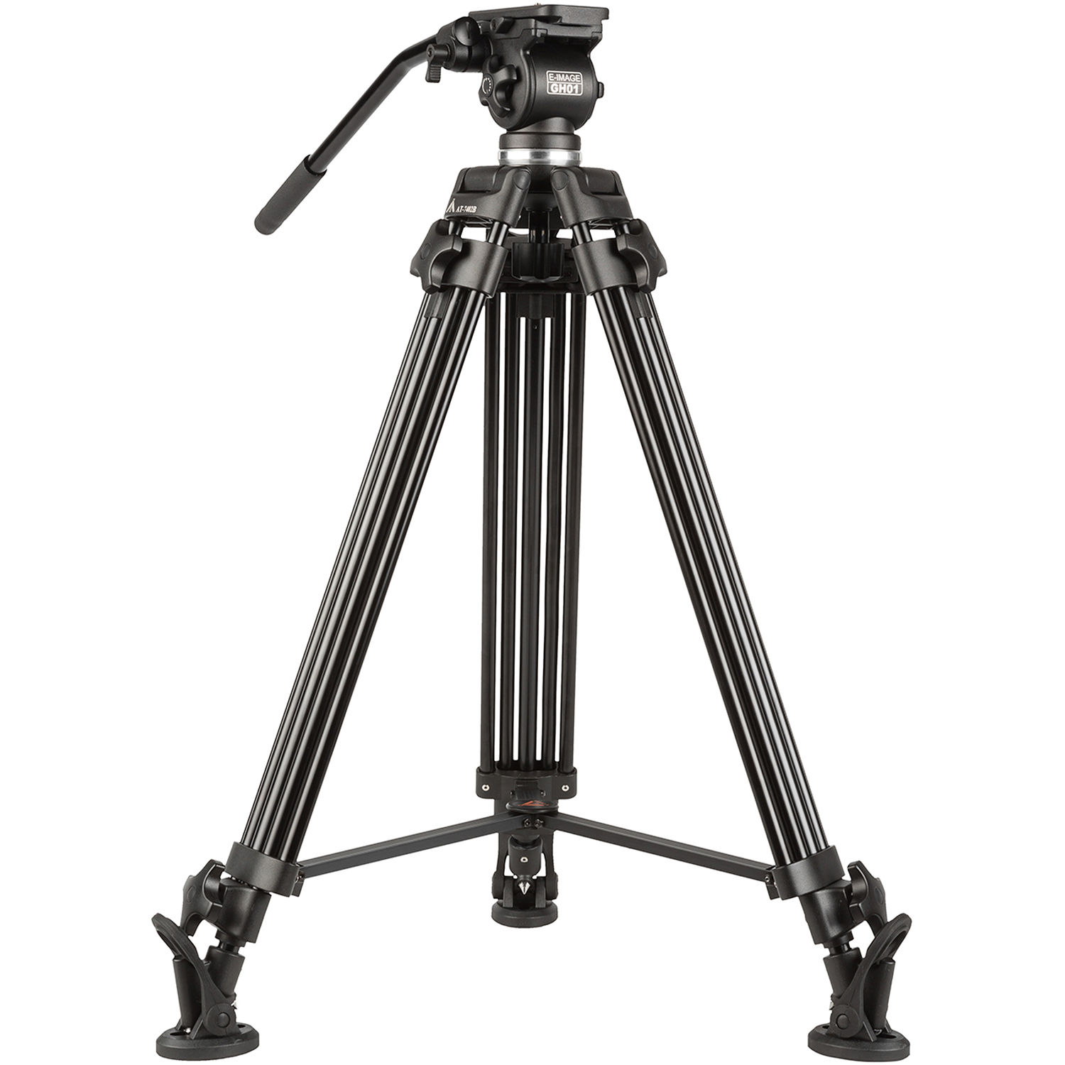 E Image Eg01a2 Two Stage Aluminum Tripod System With Gh01 Eg01a2