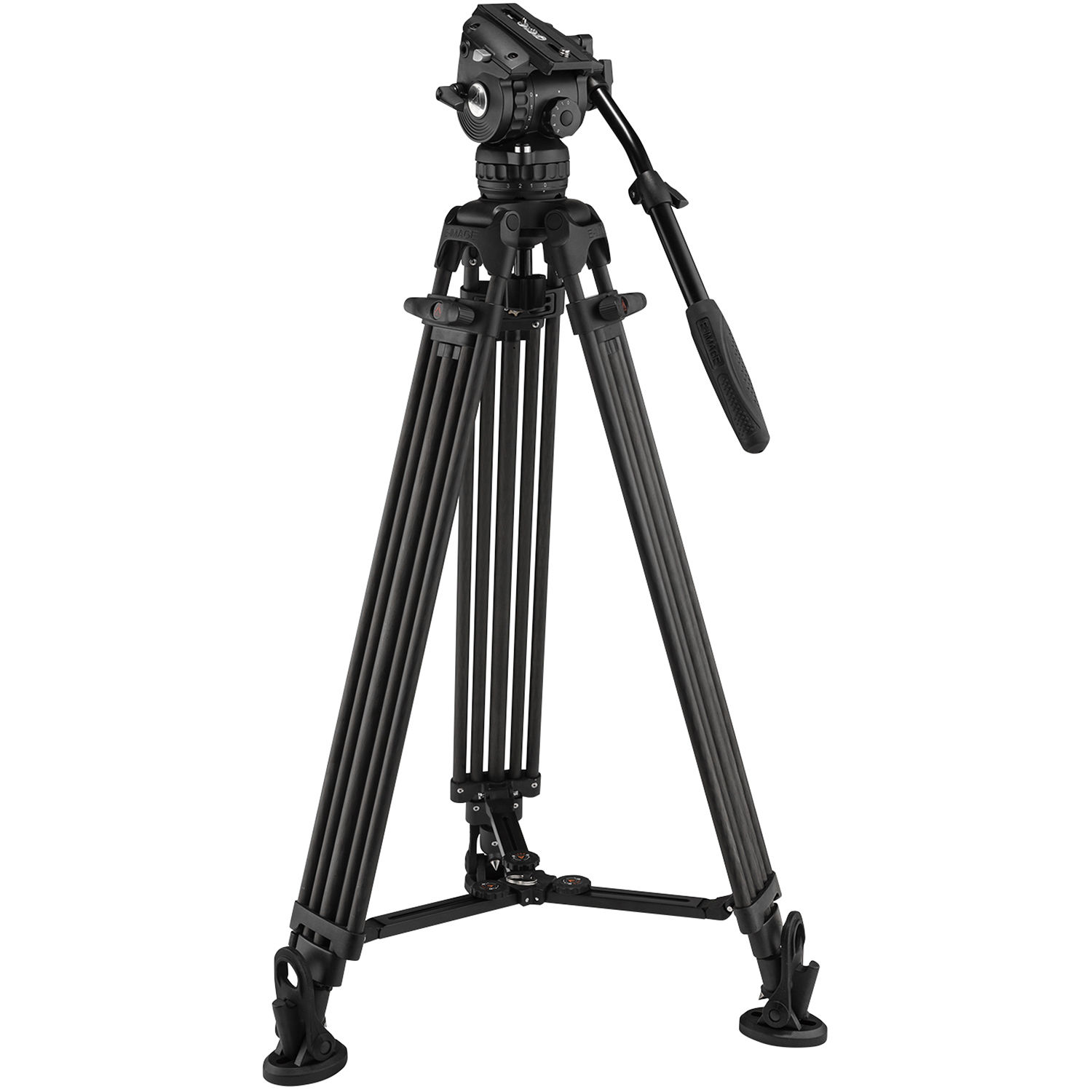 E Image Gh06 Head With 2 Stage Carbon Fiber Tripod Legs Eg06c2 Electronic Printed Circuit Board Technology Style Against