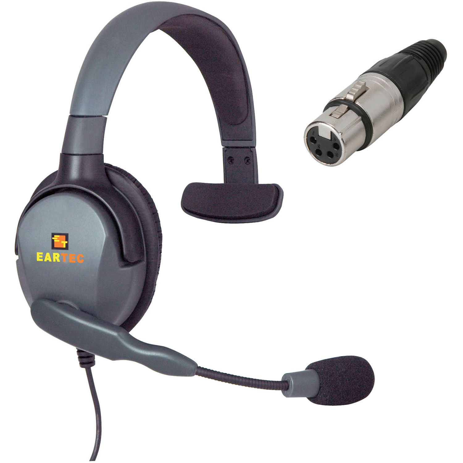 eartec max 4g single headset with 4