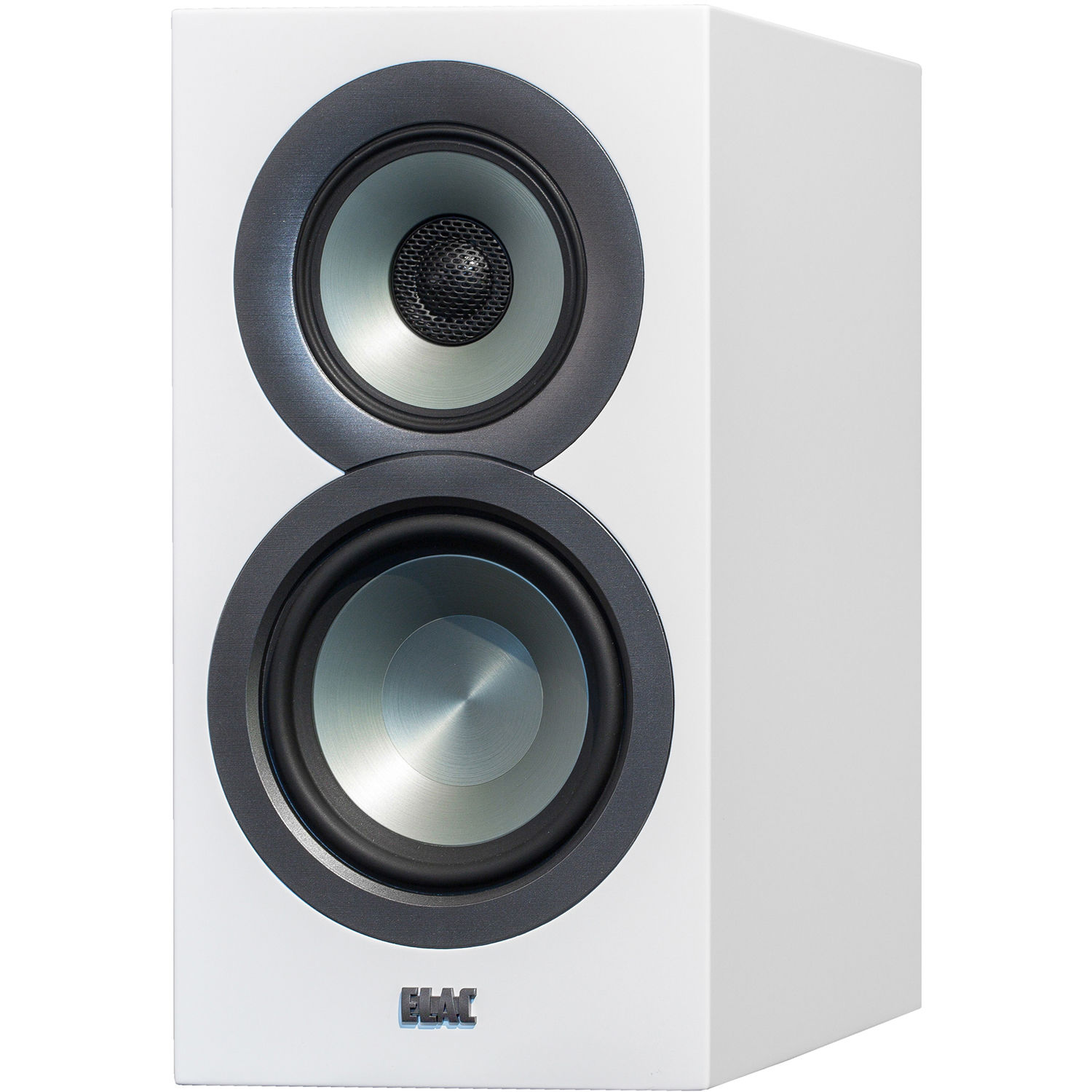 ELAC Uni Fi BS U5 Slim 3 Way Bookshelf Speakers Satin White