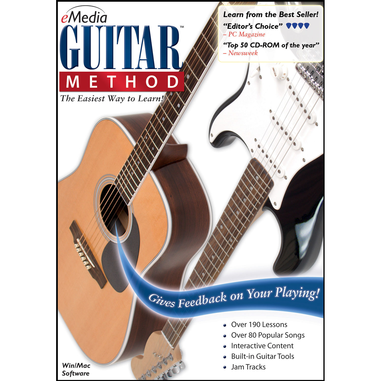 Emedia Music Guitar Method V6 Guitar Learning Eg10171dlw Bh