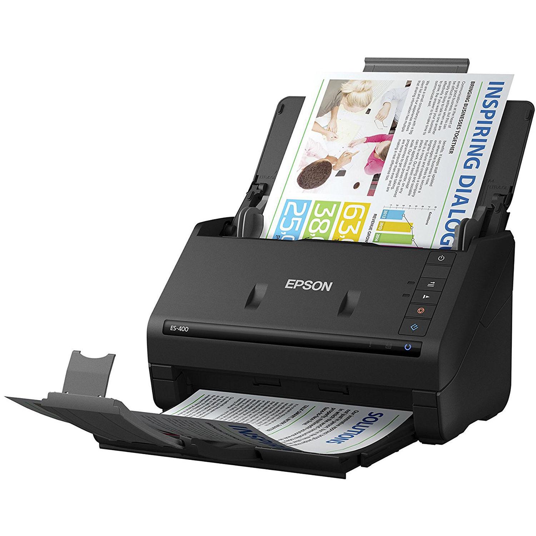 Epson workforce es 400 duplex document scanner b11b226201 bh epson workforce es 400 duplex document scanner reheart Image collections