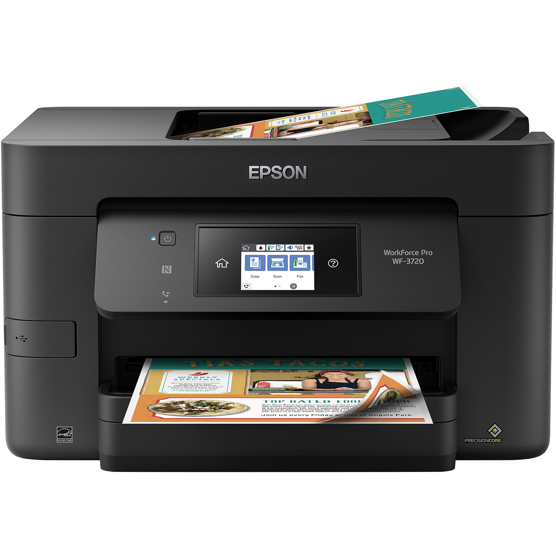Epson WorkForce Pro WF-3720 All-in-One Inkjet Printer