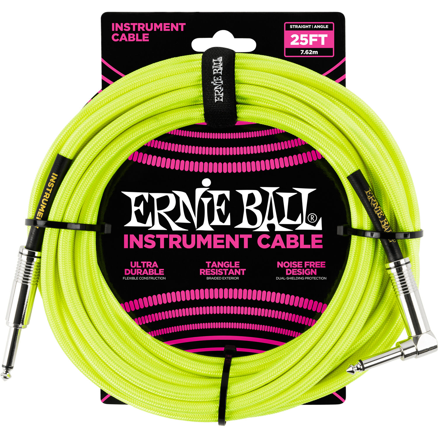 ernie ball 1 4 straight to 1 4 right angle p06057