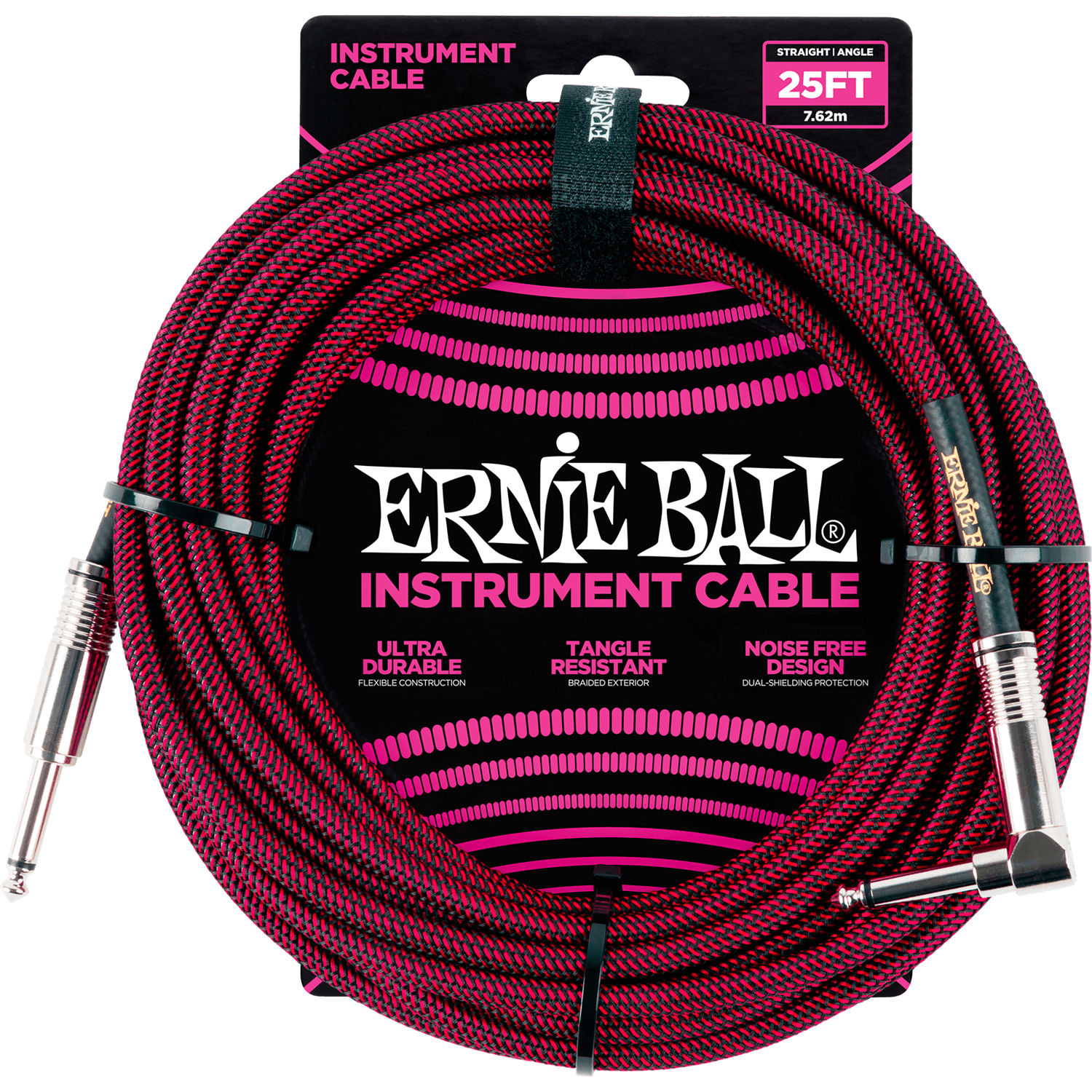 ernie ball 1 4 straight to 1 4 right angle p06062