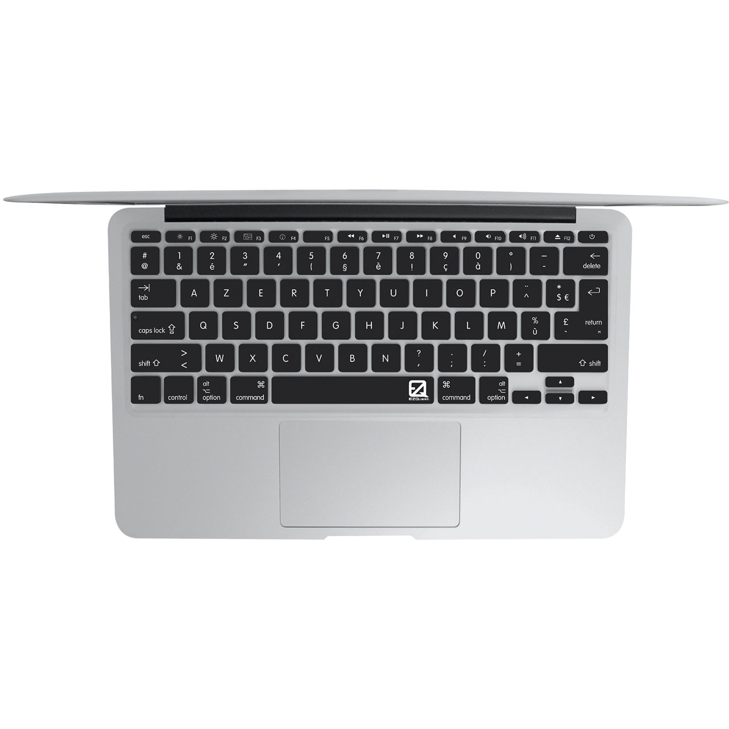 Ezquest French Keyboard Cover For The 133 Macbook X21115