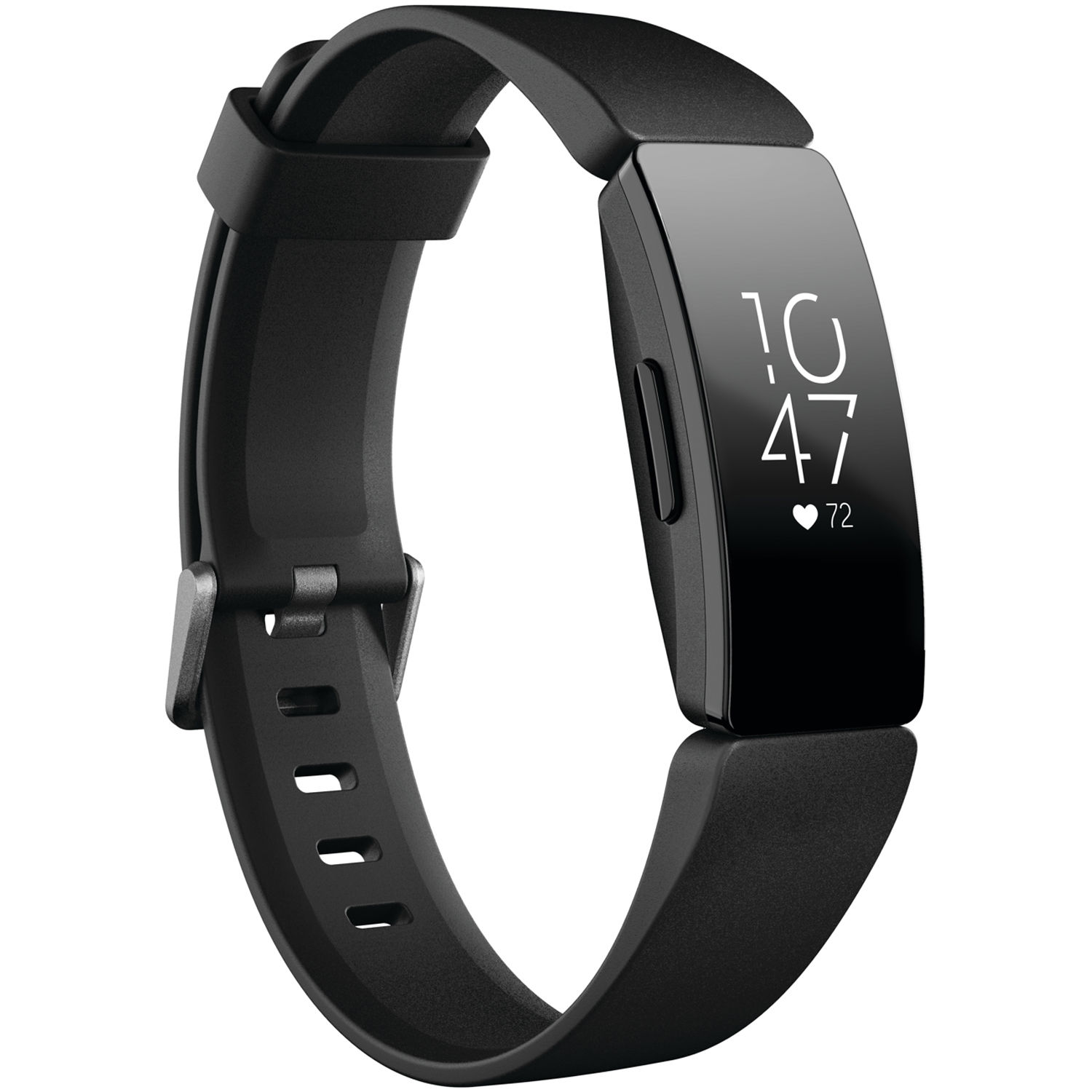 Fitbit Inspire HR Fitness Tracker (Black) FB413BKBK B&H Photo