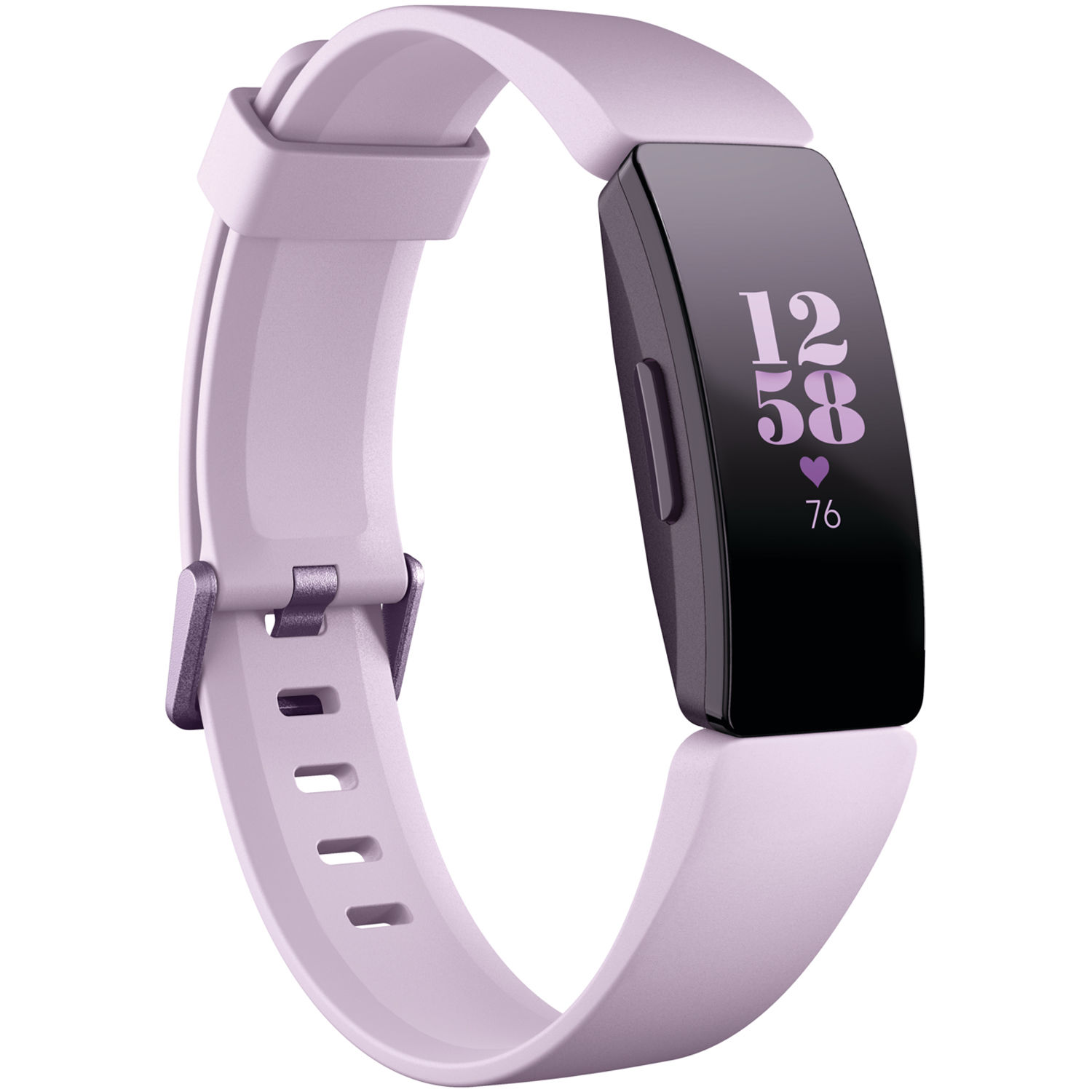 Fitbit Inspire HR Fitness Tracker (Lilac) FB413LVLV B&H Photo