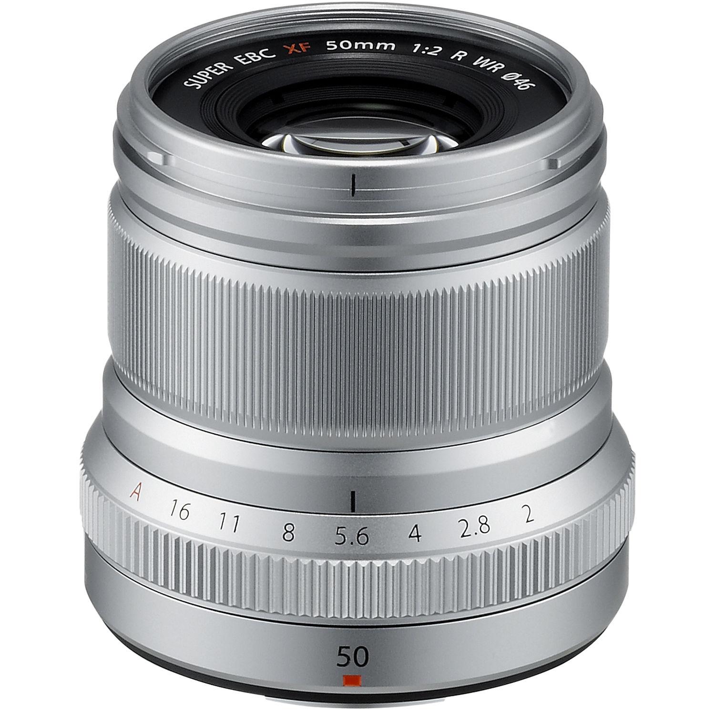 Fujifilm Xf 50mm F 2 R Wr Lens Silver 16536623 Bh Photo Video Fujinon Xf18mm 20