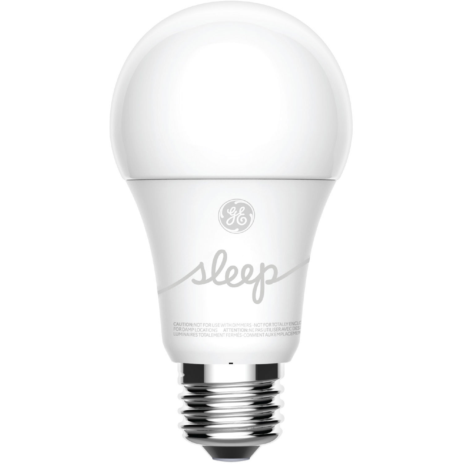 General Electric Led Bulbs: General Electric C-Sleep A19 Smart LED Light Bulb 93096307 B&H