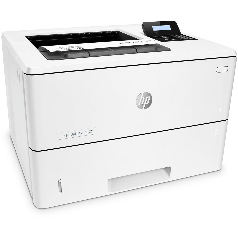 Hp Laserjet Pro M501dn Monochrome Laser Printer J8h61a Bgj B Amp H