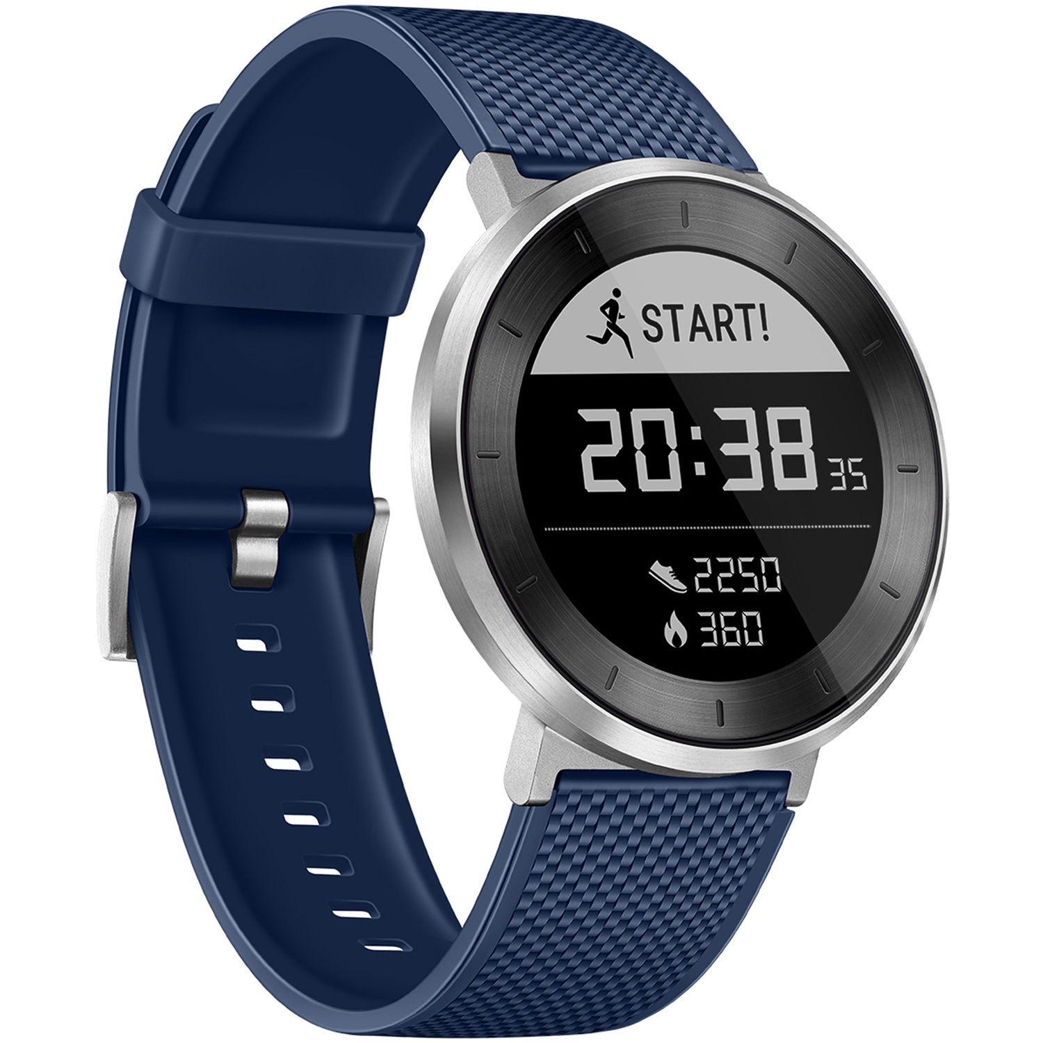 way fitness blue gray than ionic tracker more adventureclock count do steps that gear trackers fitbit watches