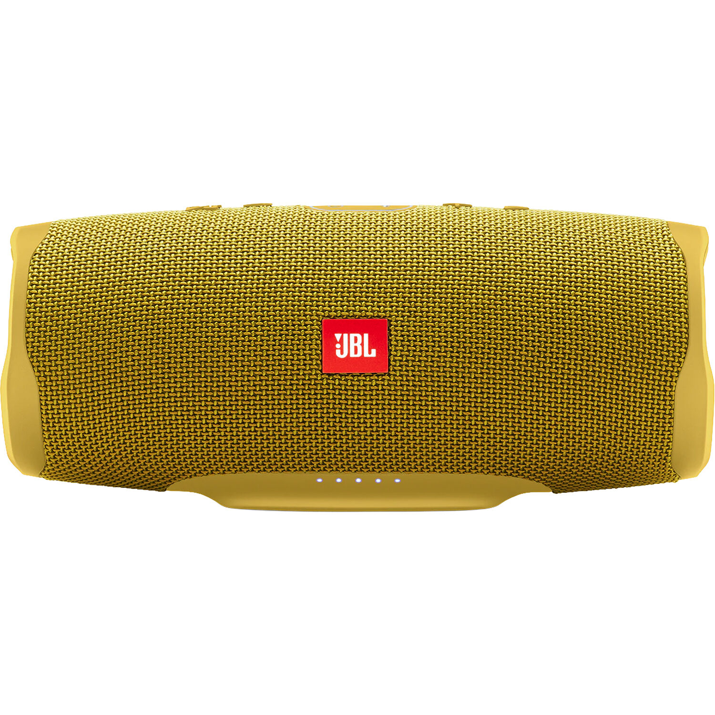 ca088830e0a JBL Charge 4 Portable Bluetooth Speaker JBLCHARGE4YELAM B&H