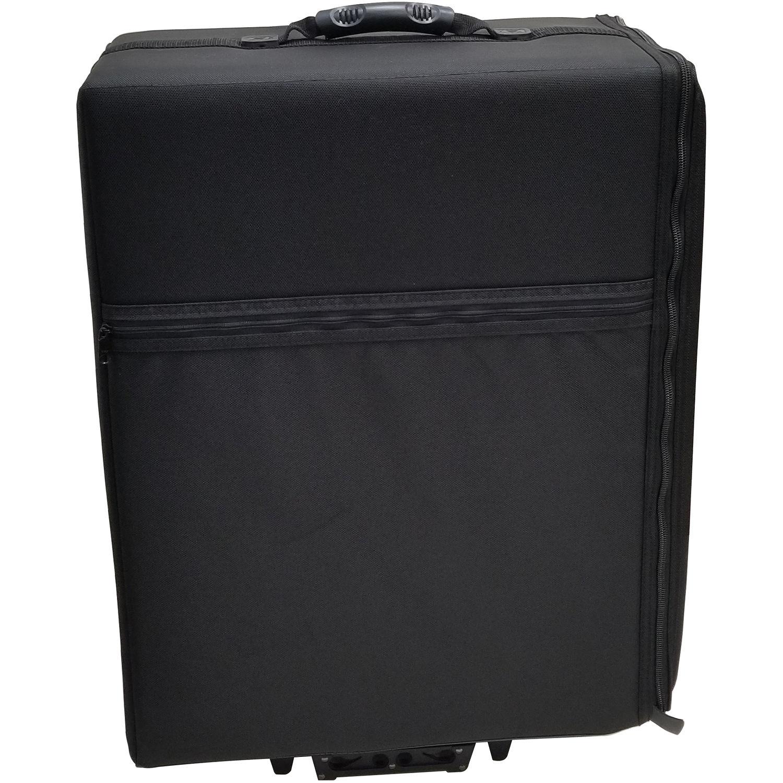 jelco jel2319w padded hard side wheeled projector case jel 2319w. Black Bedroom Furniture Sets. Home Design Ideas