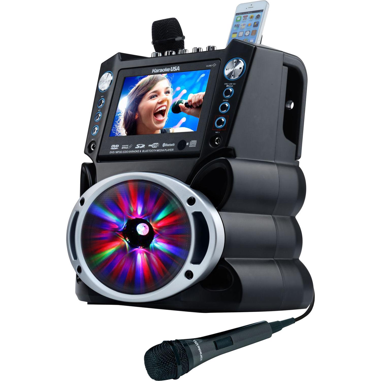 karaoke machine with screen uk