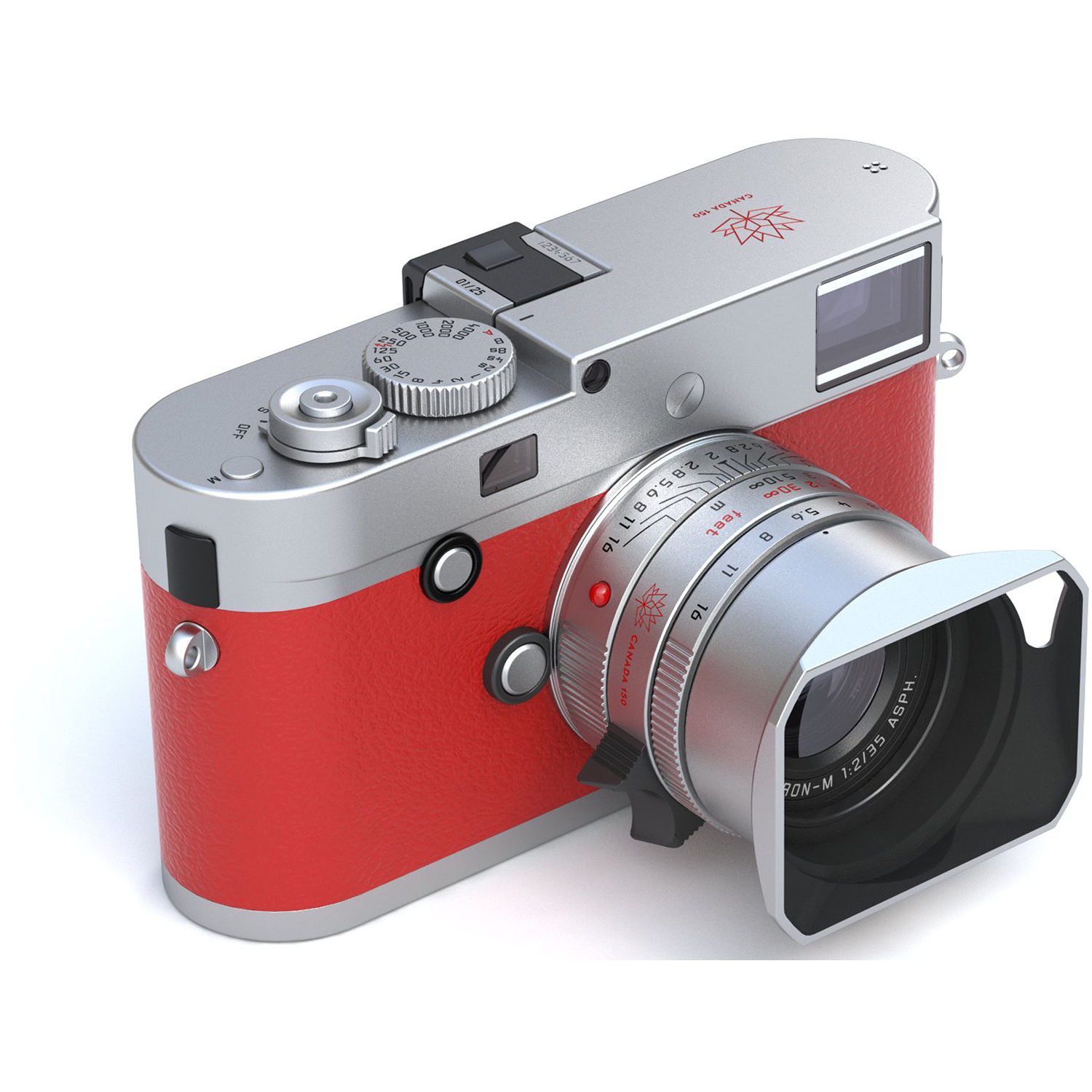 Leica M-P (Typ 240) Digital Rangefinder Camera with 35mm f/2 Lens (