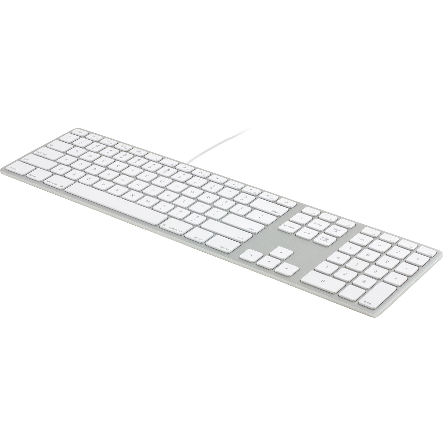 Matias Wired Aluminum Keyboard for Mac (Silver) FK318S B&H Photo