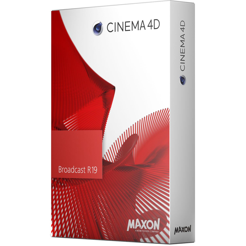 maxon cinema 4d broadcast r19 c4dbe n 16up19 b h photo video. Black Bedroom Furniture Sets. Home Design Ideas