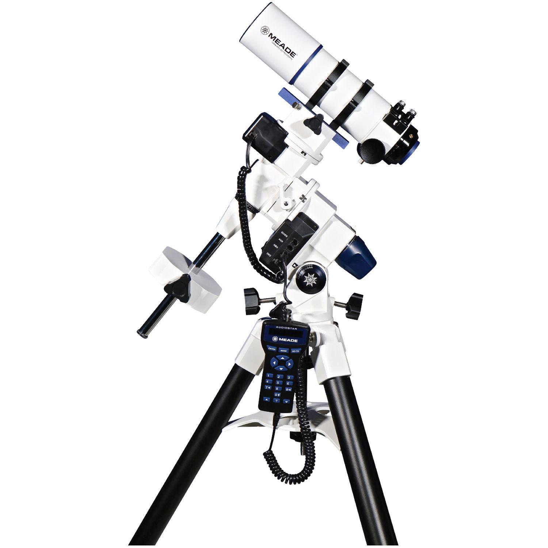 meade lx85 70mm f 5 apo refractor astrograph goto eq 217010 b h  meade lx85 70mm f 5 apo refractor astrograph goto eq telescope