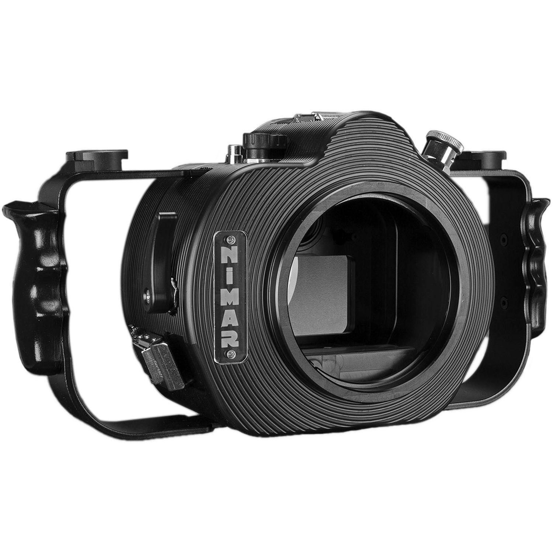 Nimar Underwater Housing For Sony Alpha A7ii A7r Ii Or Nia7iib L Plate Bracket Kamera A7 A7s Black