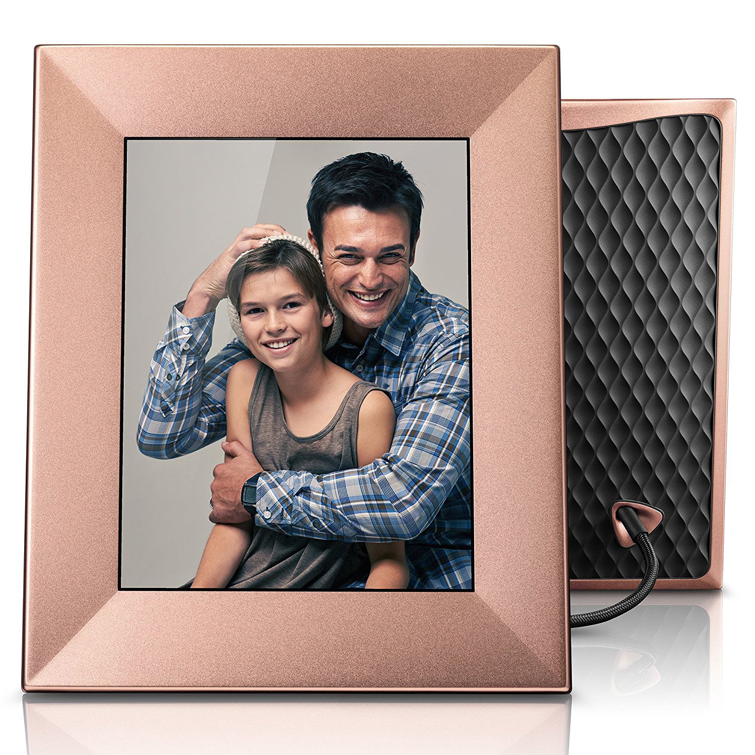 Digital picture frames albums bh photo video nixplay iris 8 digital photo frame peach copper jeuxipadfo Image collections