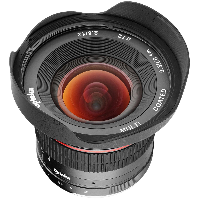d2d782048d64 Opteka 12mm f 2.8 Lens for Sony E OPTM1228S B H Photo Video