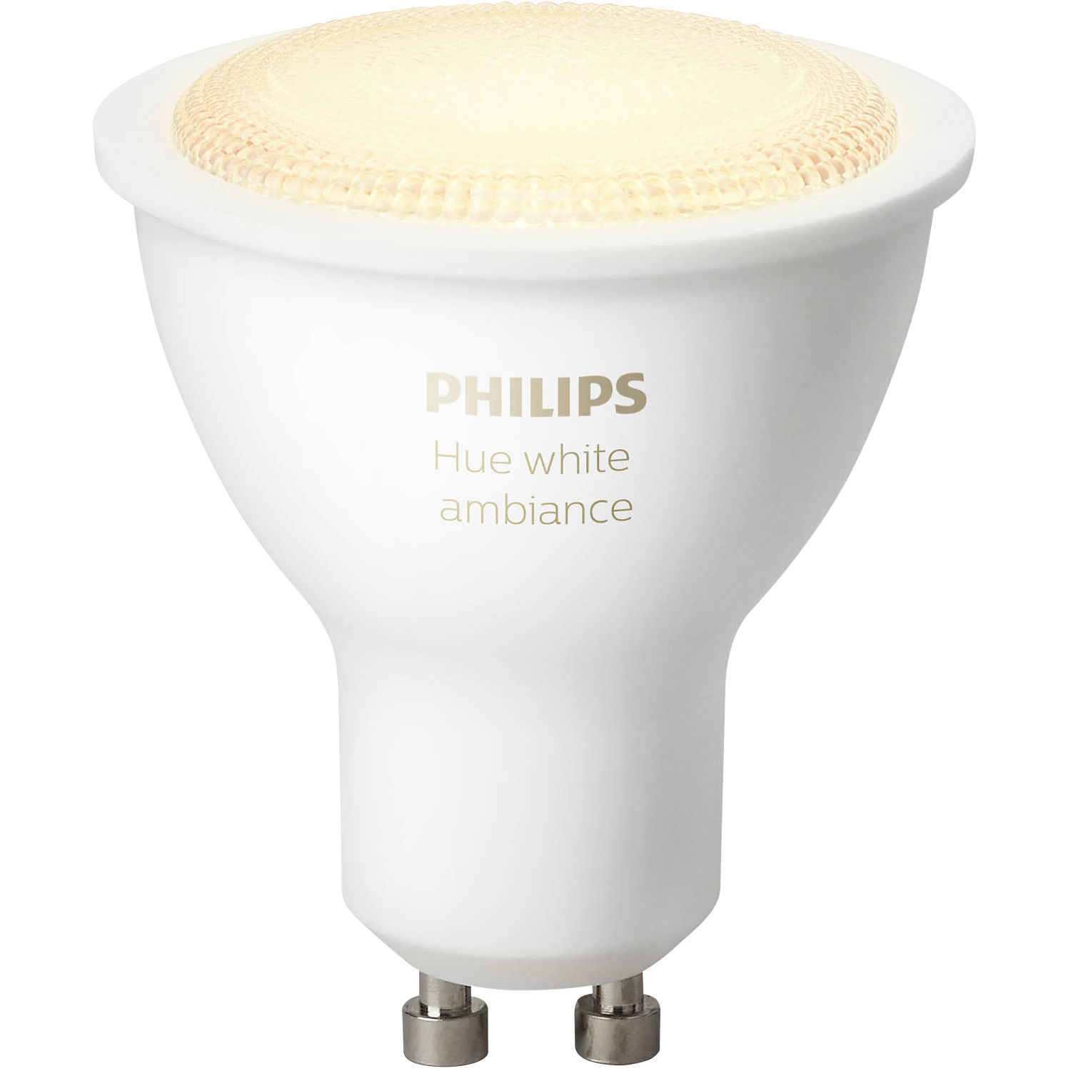 philips hue gu10 single bulb white ambiance 464677 b h photo. Black Bedroom Furniture Sets. Home Design Ideas
