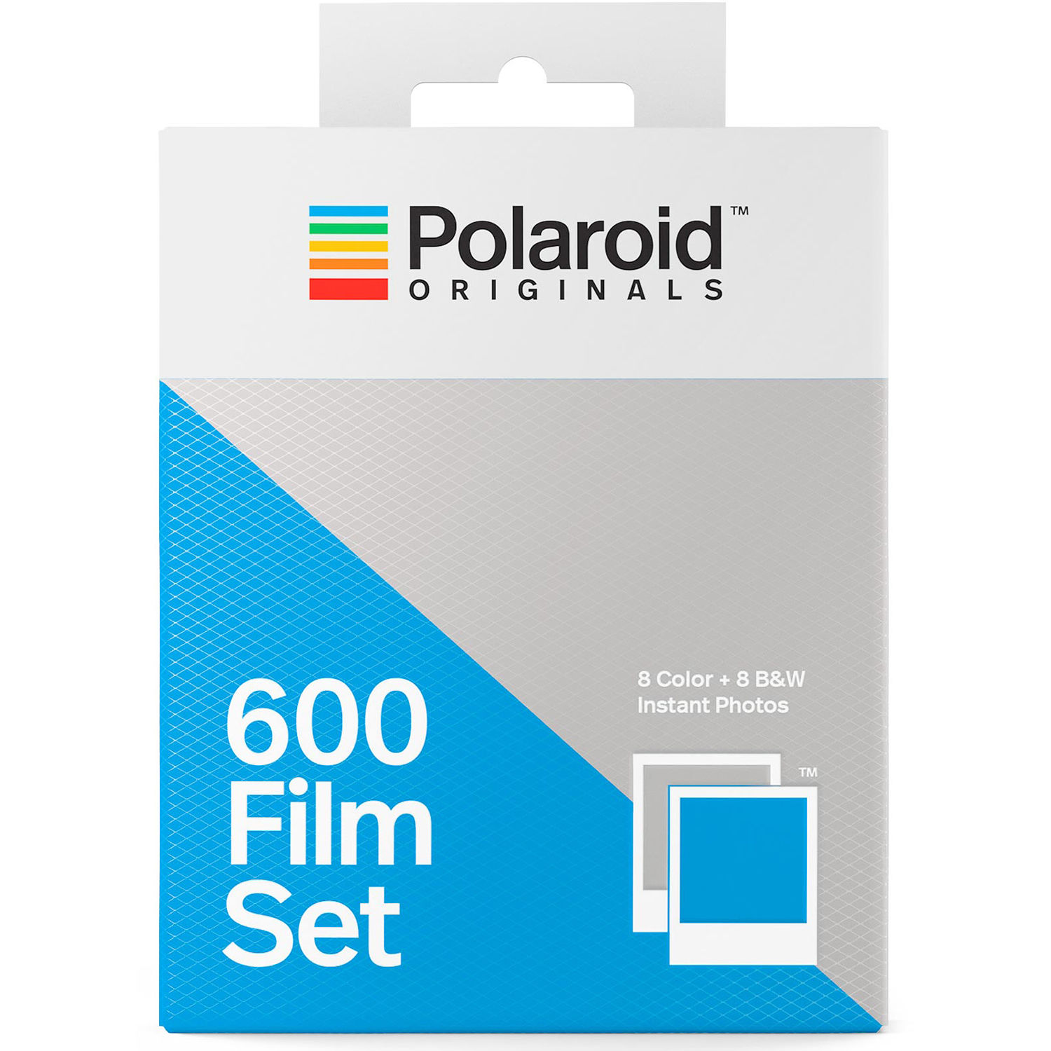 Color And Black White 600 Instant Film Set Double Pack 16 Exposures
