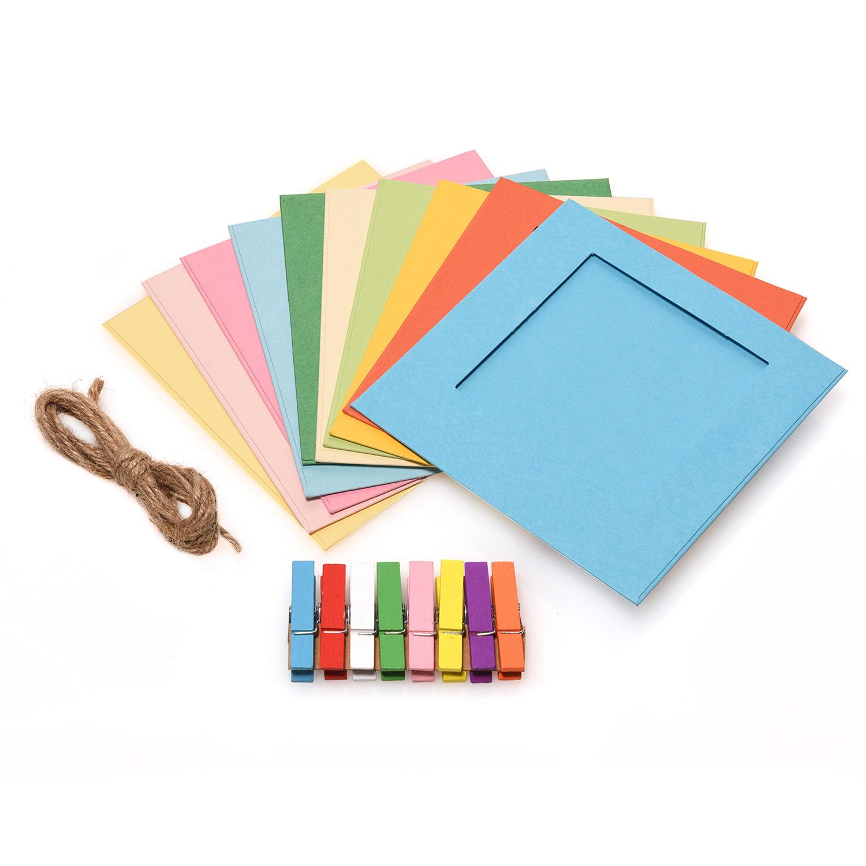 Polaroid 3 X 4 Square Color Frame Kit 10 Pack Pl3x4frsq