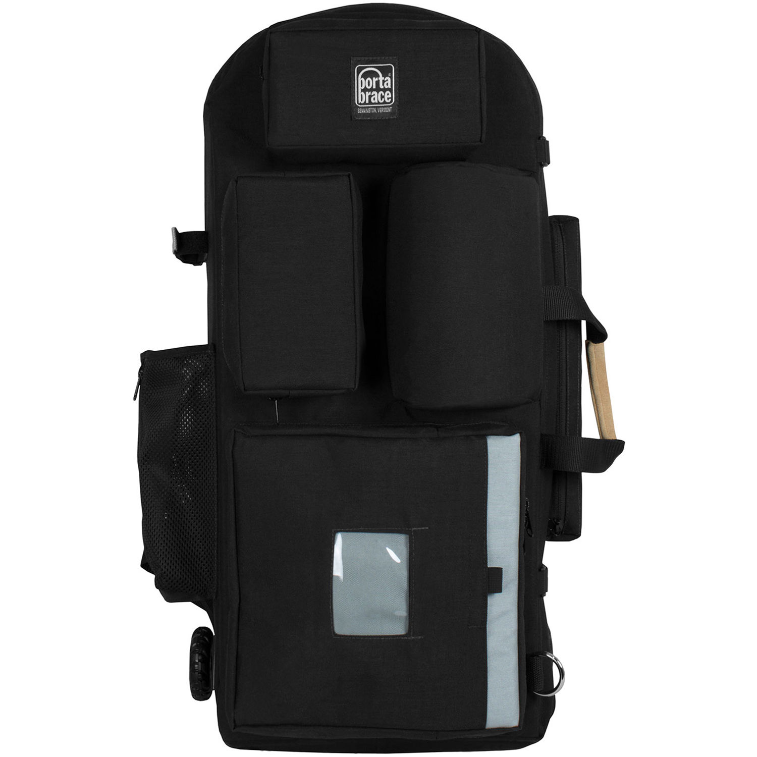600d467b7b Porta Brace Wheeled Hiker Backpack Case for Select Broadcast Cameras