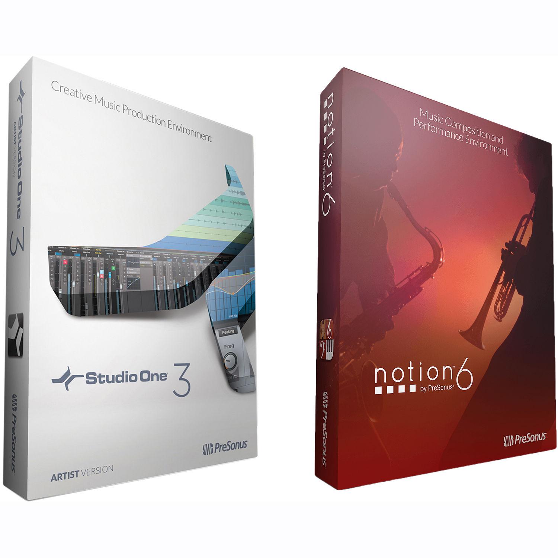 Presonus notion 6 music notation software for mac