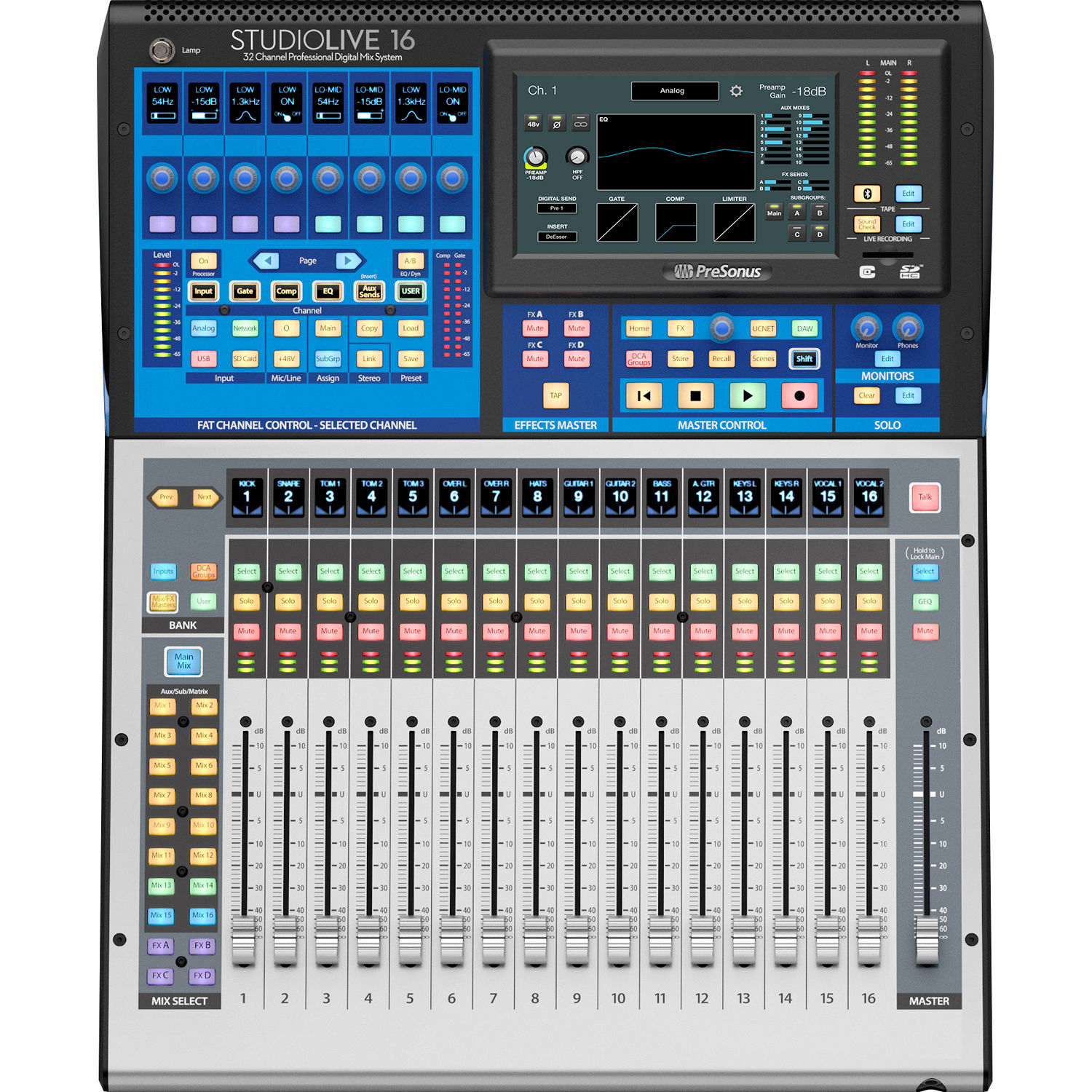 presonus studiolive 16 series iii studiolive 16 series iii b h. Black Bedroom Furniture Sets. Home Design Ideas