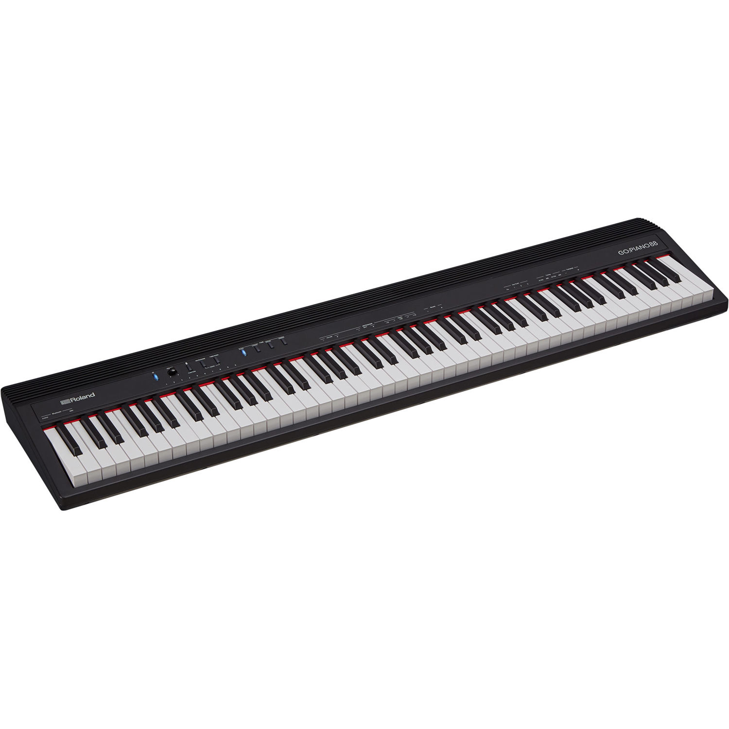 roland go piano88 88 note digital piano with onboard go 88p b h. Black Bedroom Furniture Sets. Home Design Ideas