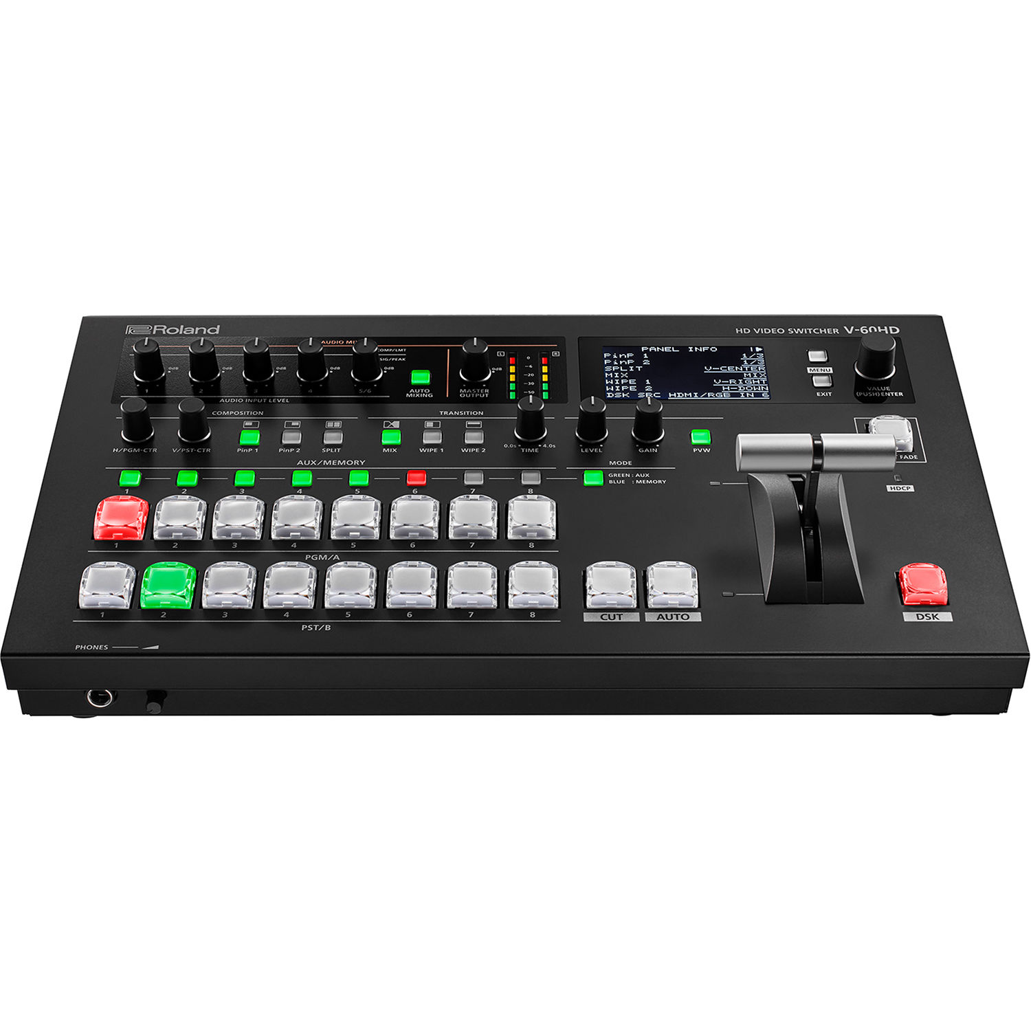 Roland V 60hd Multi Format Hd Video Switcher Bh Photo Electrical Wiring Youtube Together With Sewing Machine 2 Pin
