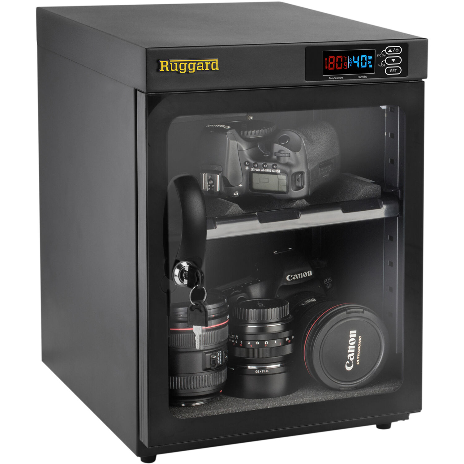 Care for your camera with a digital dry cabinet