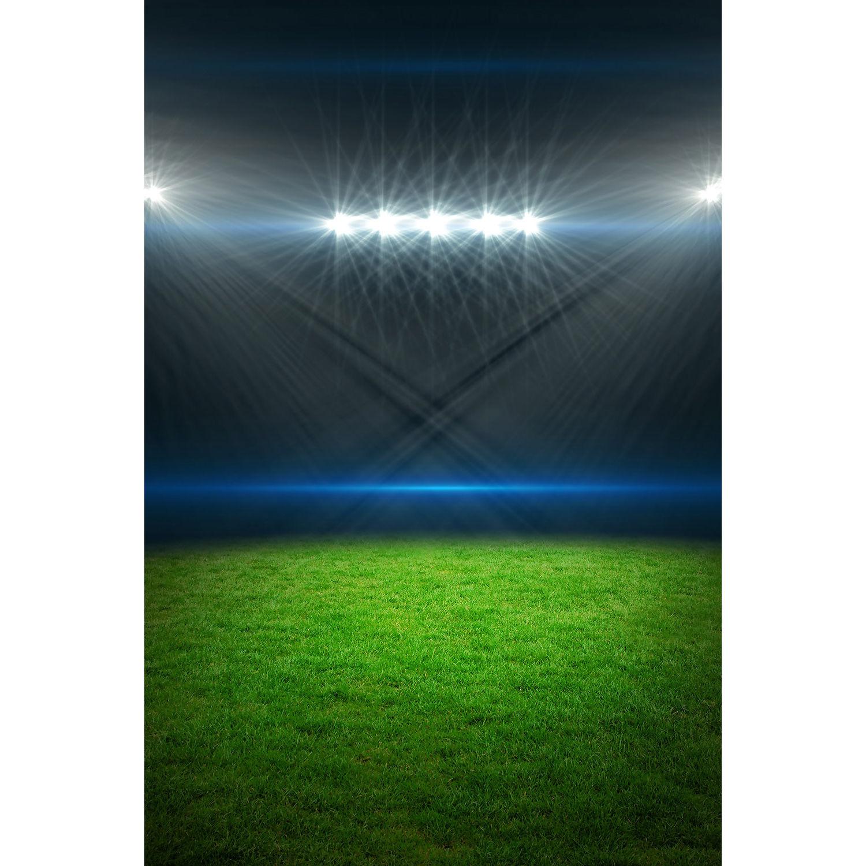 Savage Stadium Lights Printed Vinyl Backdrop (5x7') P