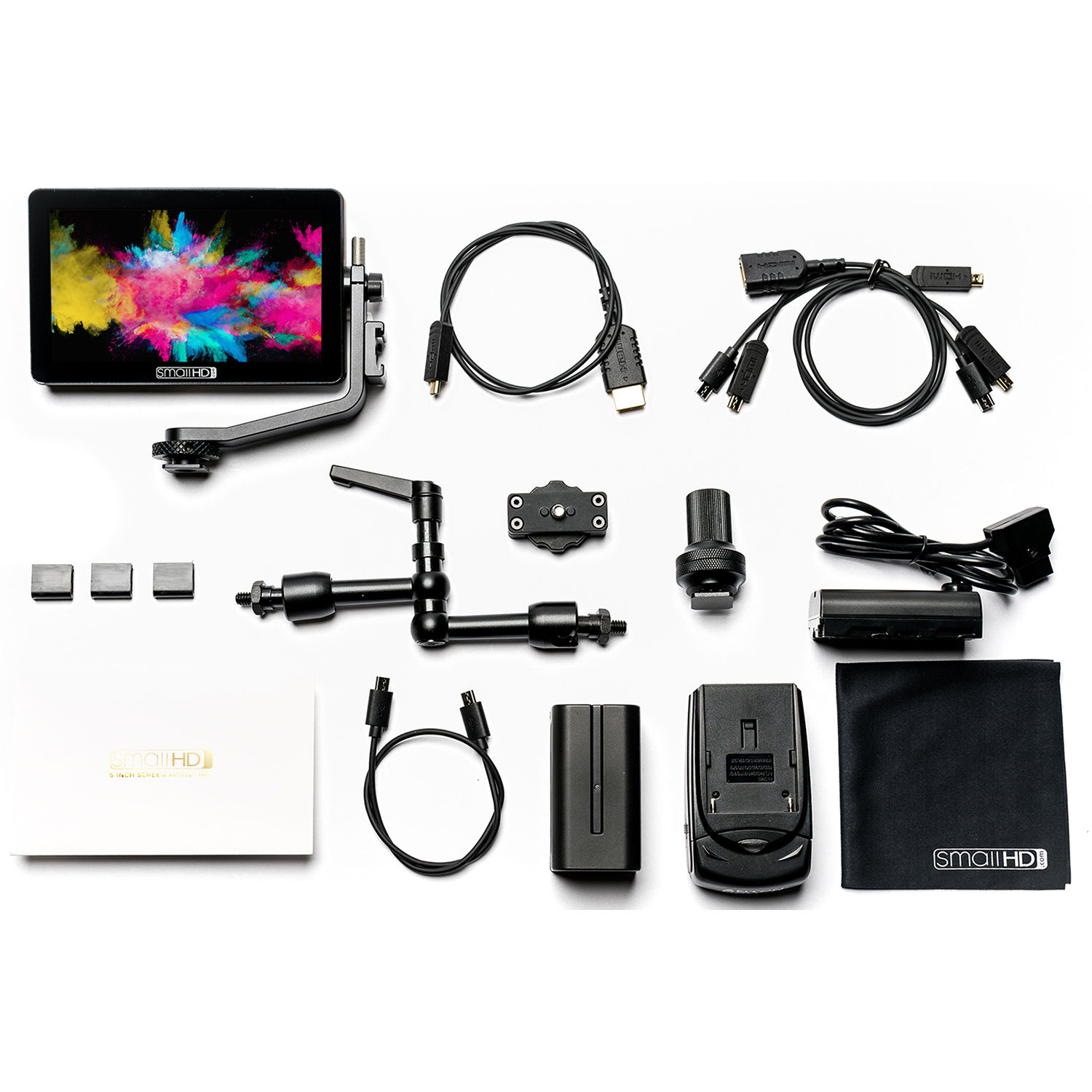 smallhd focus oled hdmi monitor cine kit mon focus oled. Black Bedroom Furniture Sets. Home Design Ideas