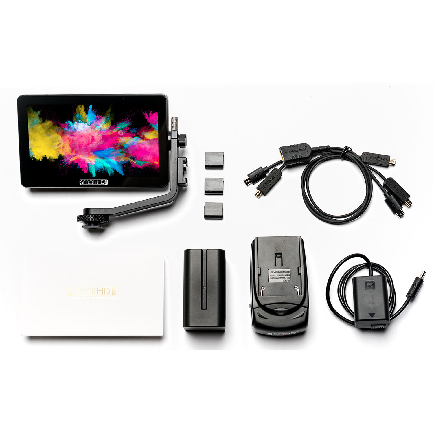 smallhd focus oled np fw50 kit mon focus oled npfw50 kit b h. Black Bedroom Furniture Sets. Home Design Ideas