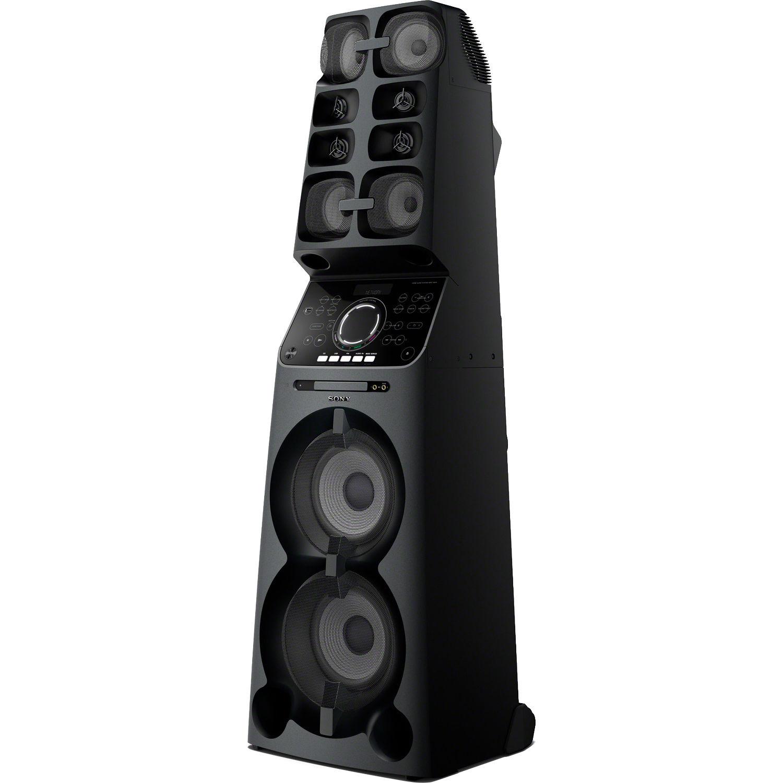 sony muteki high power audio system mhcv90w b h photo video. Black Bedroom Furniture Sets. Home Design Ideas