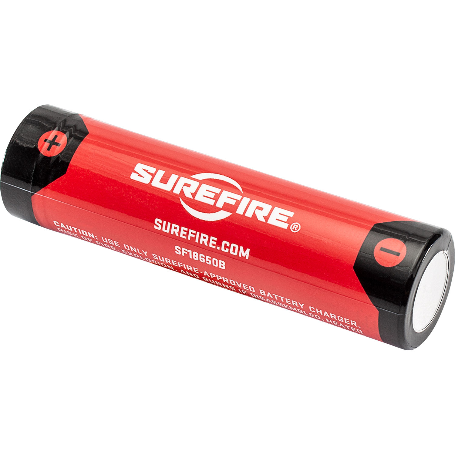 SureFire 18650 Li-Ion Rechargeable Battery with Charging