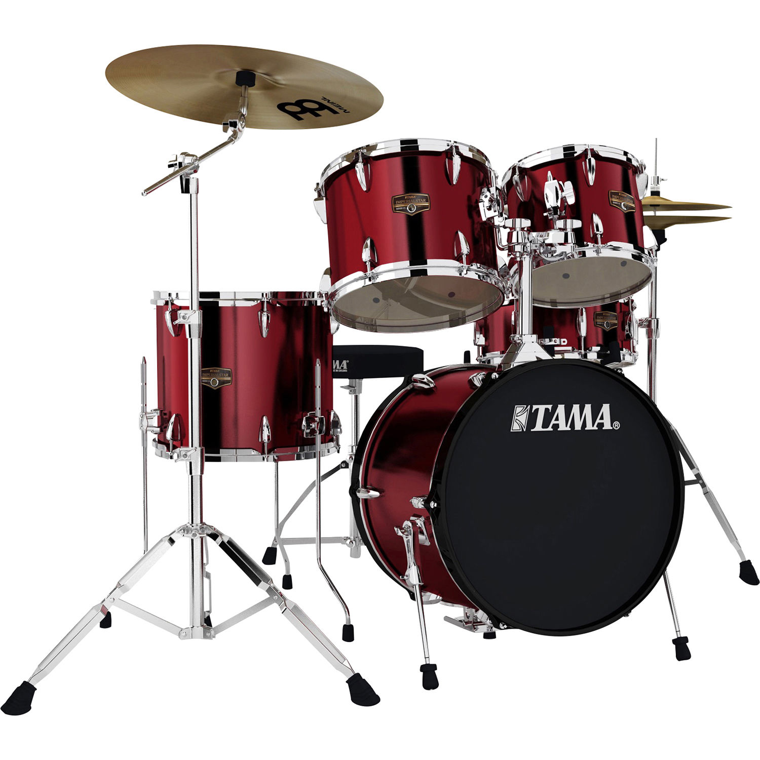 Tama Ip58cvtr Imperialstar 5 Piece Drum Set Ip58cvtr B H Photo